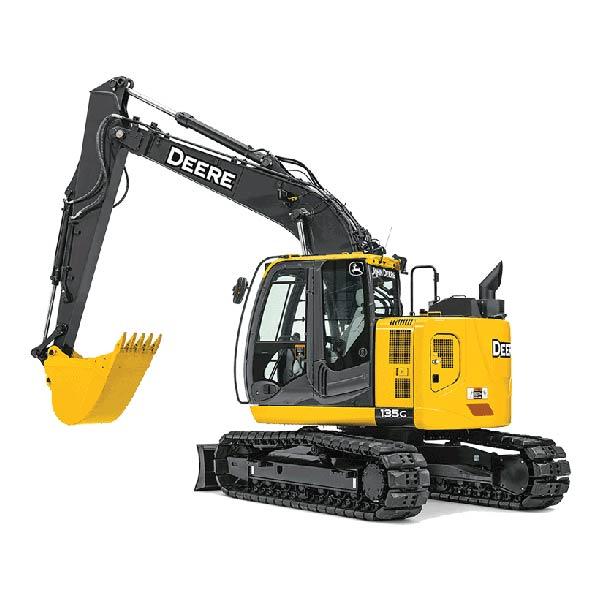 John Deer 135 Excavator