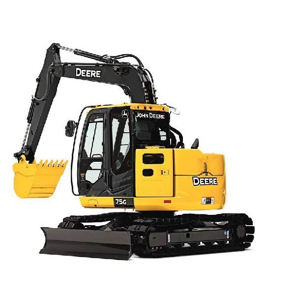 John Deer 75 Excavator