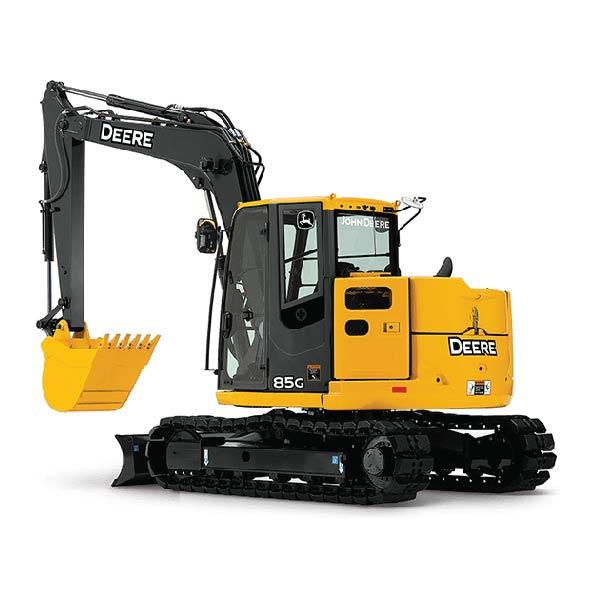 John Deer 85 Excavator
